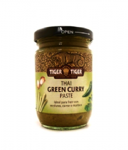 Tiger Tiger Thai Green Curry Paste [Gluten Free]| Buy Online at the Asian Cookshop